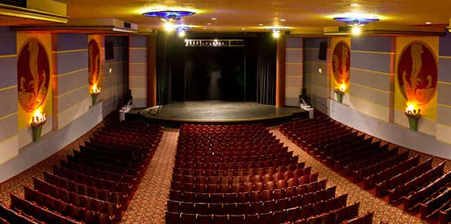 Photo of the Tower Theatre's interior