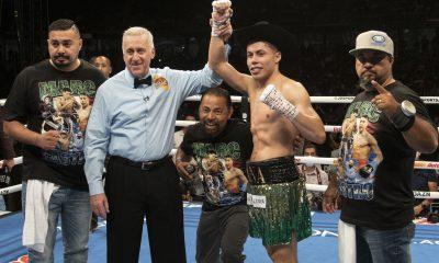 Marc Castro Celebrates Victory
